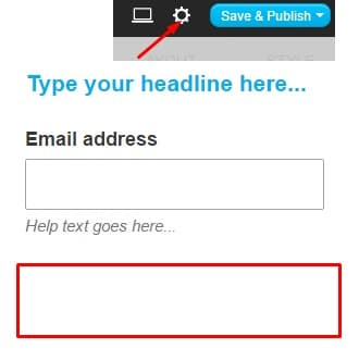 3.Edit the form