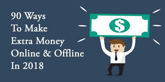how to make money online 90 ways image