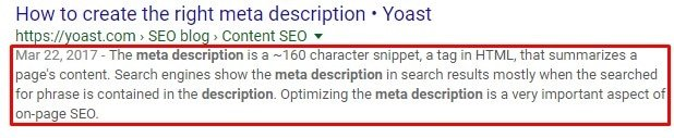 11.meta description screenshot picture