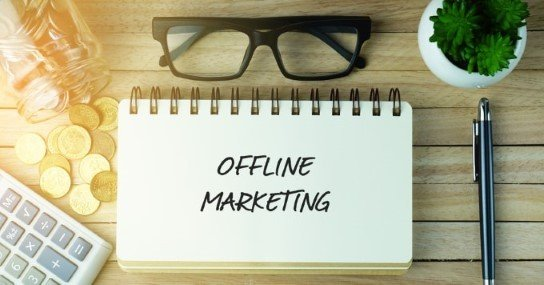 Offline marketing image