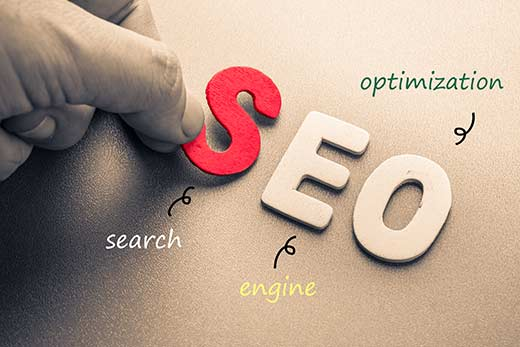 use SEO to increase website traffic