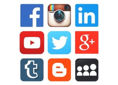 Social media advertising image