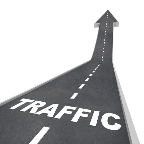boost traffic with product and physical business